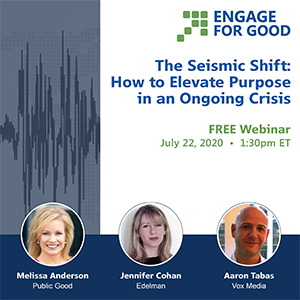 Engage for Good Seismic Shift